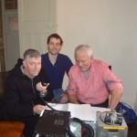 Dom VK2JNA, Geoff VK2AVR, Steve VK3TDX work some stations