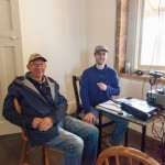 Geoff VK2TGO and Geoff VK2AVR at the HF station