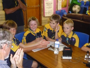 26-Oct-2016 Killarney Cubs' vist 7-8:30pm